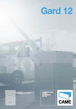 Katalog: Came - Schrankensystem Gard 12