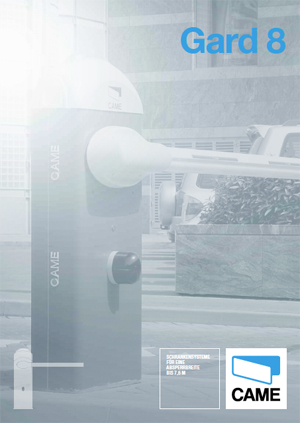 Katalog: Came - Schrankensystem Gard 8