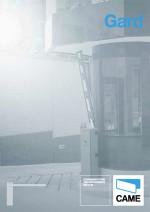 Katalog: Came - Schrankensysteme Gard bis 6,5 m