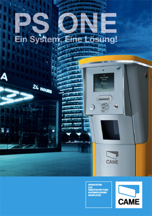 Katalog: Came - Parksysteme PS One
