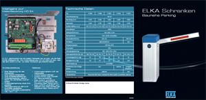 Flyer: Elka Schrankensystem Parking