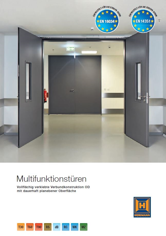 Katalog: Hörmann - Multifunktionstüren