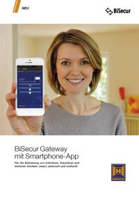 Katalog: Hörmann BiSecure Gateway mit Smartphone-App