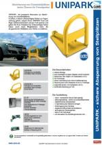 Flyer: Came - Parkbügelsystem Unipark