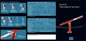 Flyer: Elka Handschranken